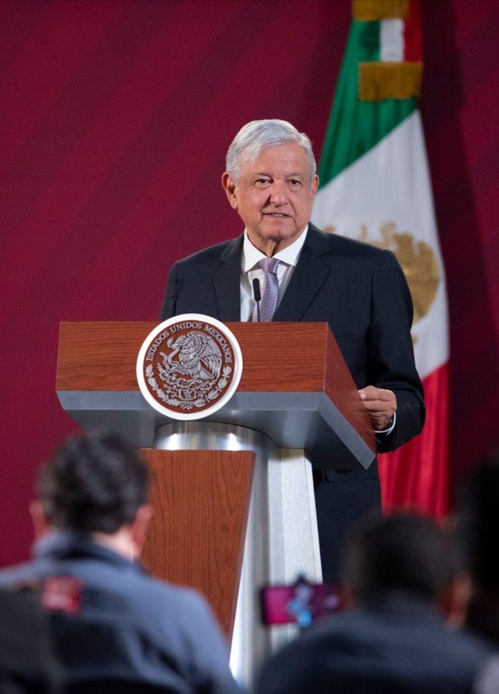 El presidente López Obrador lamentó el asesinato de Victoria Salazar a manos de policías