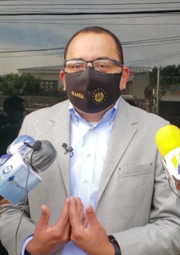 El presidente de ANDA dijo que evaluarán a quienes podrían otorgarle el subdido al agua