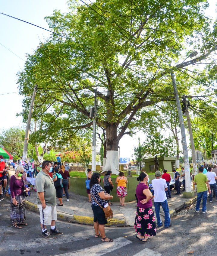 El Ministerio de Salud realiza jornada de tamizaje comunitario en el municipio de Zacatecoluca