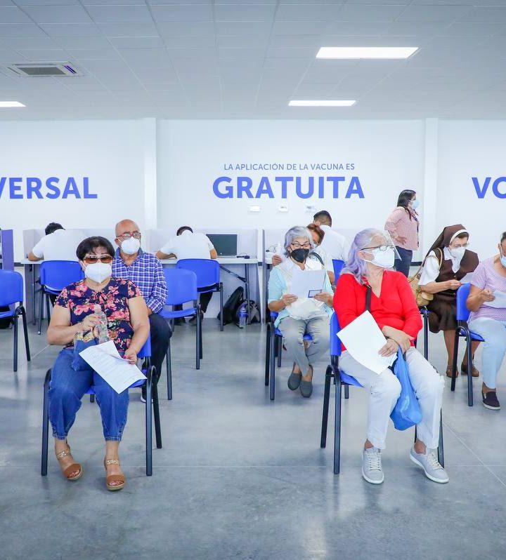 Inicia la jornada de inmunización ante el Covid-19 en el Megacentro de Vacunación