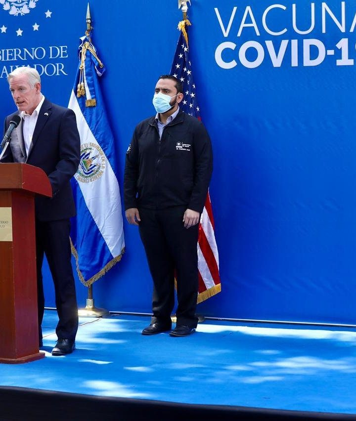 EE.UU. dona $2 millones de dólares adicionales para combatir COVID-19 en El Salvador