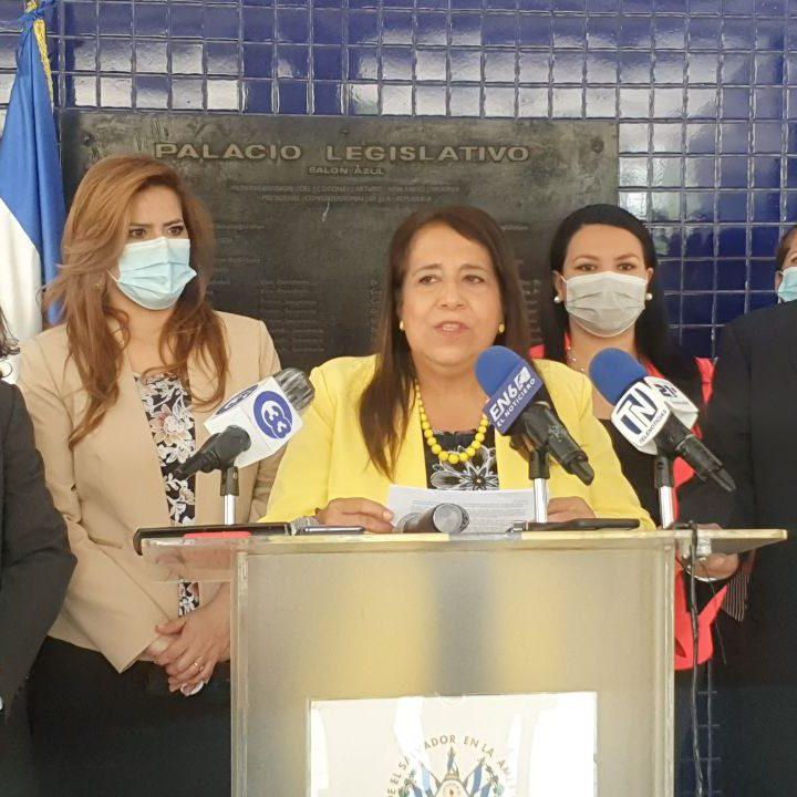 El Grupo Parlamentario del FMLN presentó informe de trabajo en la gestión 2018-2021