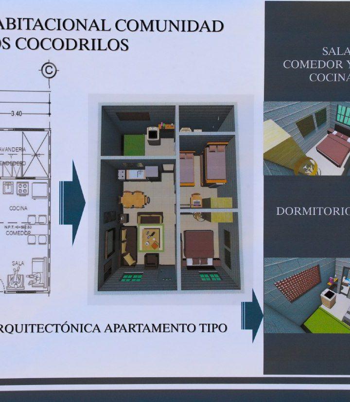 Anuncian  la construcción de un proyecto habitacional para las familias de la comunidad Los Cocodrilos, en San Salvador