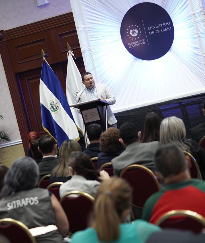 Ministerio de Trabajo lanza el Instituto de Formación Sindical