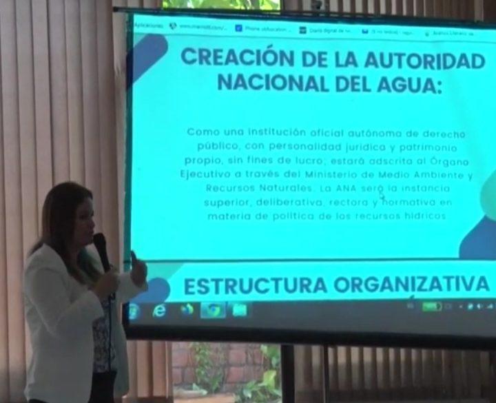 Grupo Parlamentario del FMLN presenta el informe legislativo sobre la Ley de Agua