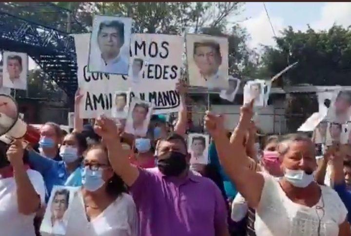 Exigen la liberación del alcalde de San Rafael Obrajuelo