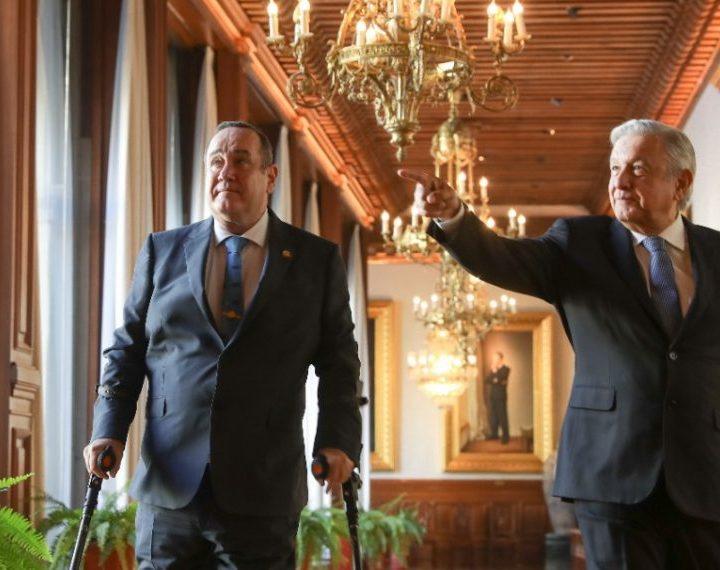 Giammatei y Obrador se reunen para fortalecer relaciones entre naciones