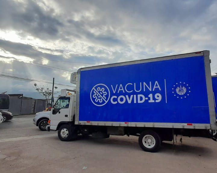 Vacunas donadas por presidencia llega a Honduras