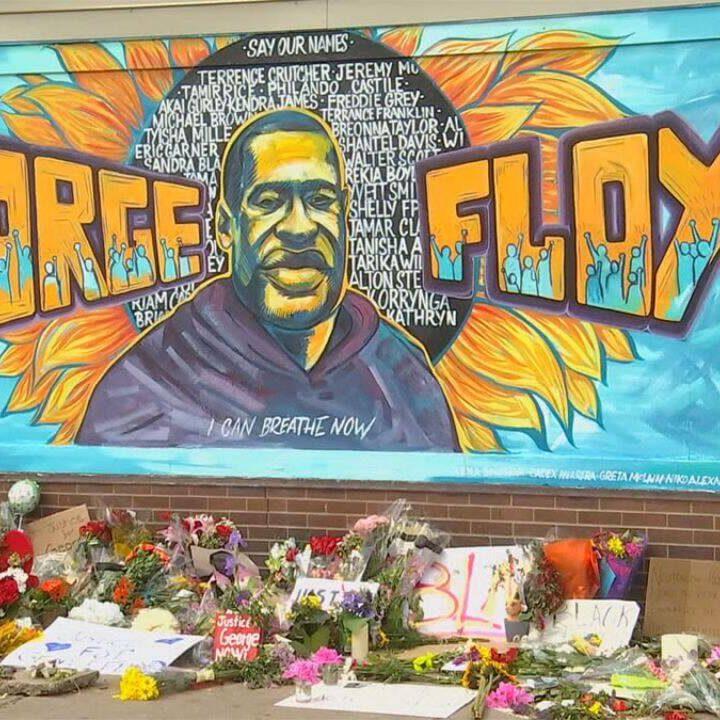 Declaran a Floyd emblema de la lucha contra la brutalidad policial