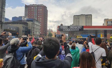 Grave deterioro de los derechos humanos, tras jornada de represión en Colombia