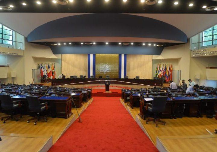 Asamblea Legislativa se prepara lujosamente para recibir a Bukele
