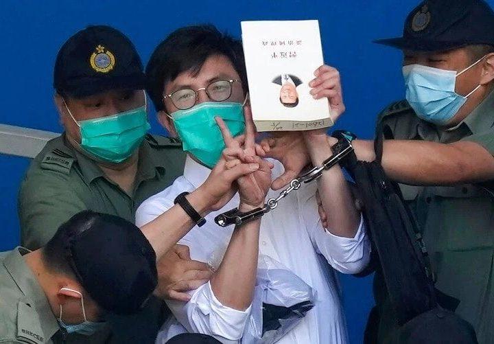 Condenan a prisión a activistas de Hong Kong