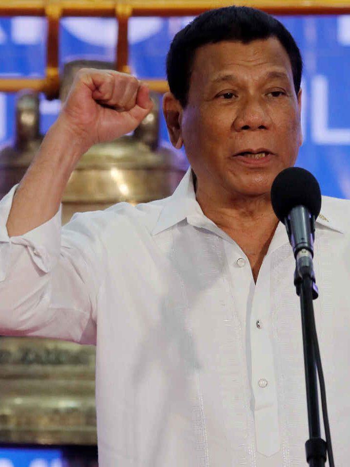 """No nos moveremos una pulgada"" Duterte a China"