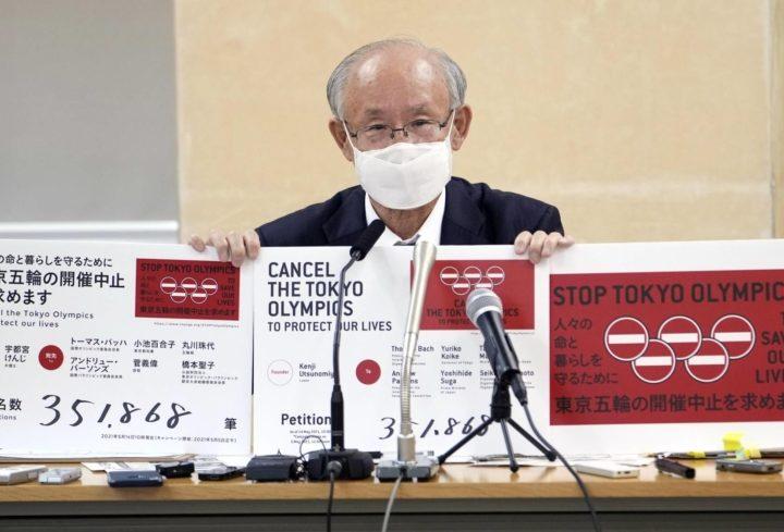 Piden cancelar los Juegos Olímpicos de Tokio 2021