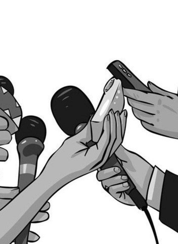 Oficialismo retiene a la prensa para no abordar a los diputados de la Bancada Cyan