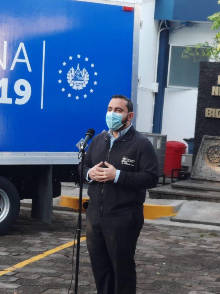 El Salvador dona 16 mil vacunas a Honduras