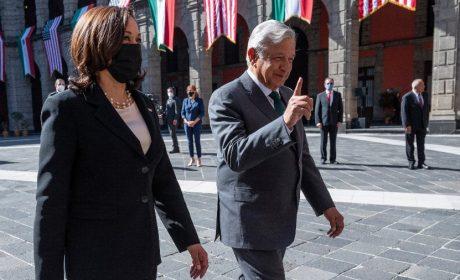 Vicepresidenta Harris culmina con promesas su visita a México