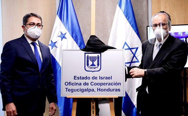 Aperturan embajada de Honduras en Jerusalen