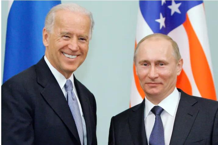 Histórica reunión entre Biden y Putin en Ginebra, Suiza