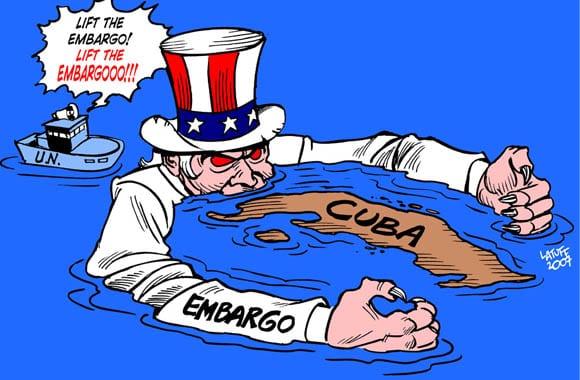 Naciones Unidas debatirá bloqueo económica de Estados Unidos a Cuba