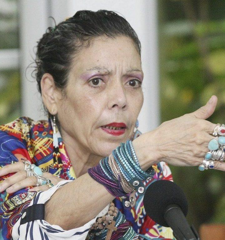 Vicepresidenta de Nicaragua aplaude que queden pocos en el país