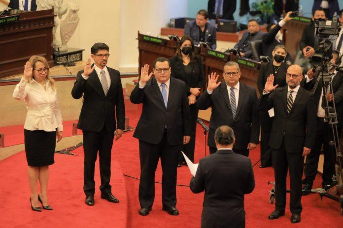 Asamblea Legislativa elige a nuevos Magistrados de la CSJ