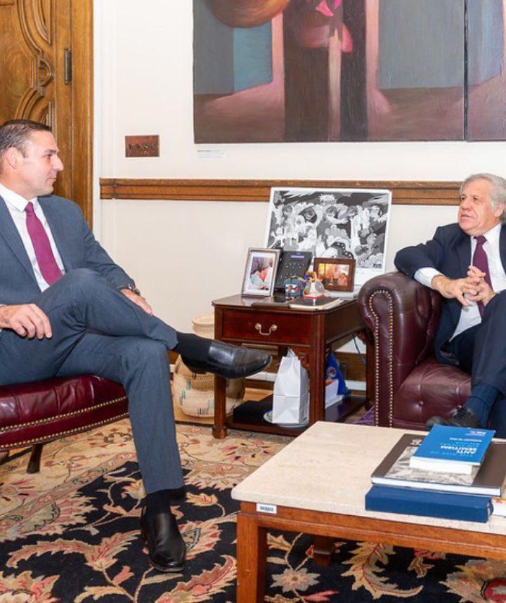 Ernesto Muyshondt es nuevo asesor de la OEA