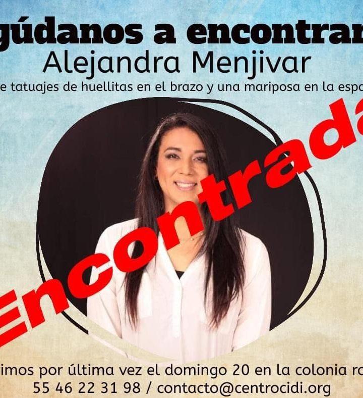 Encuentran con vida a Alejandra Menjívar, excandidata trans para el PARLACEN