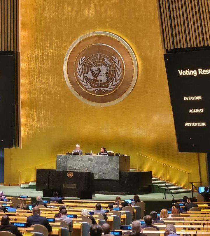 Asamblea General de la ONU nuevamente rechaza bloqueo a Cuba
