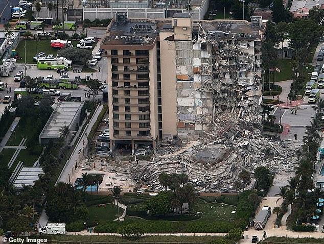 Aumentan número de fallecidos en derrumbe de edificio en Miami