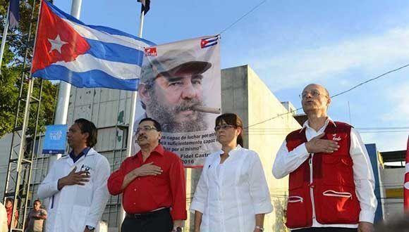 FMLN en total apoyo al presidente Díaz Canel