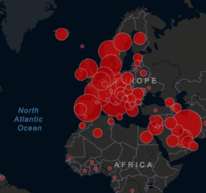 El mundo se apróxima a los 5 millones de personas fallecidas por Covid19