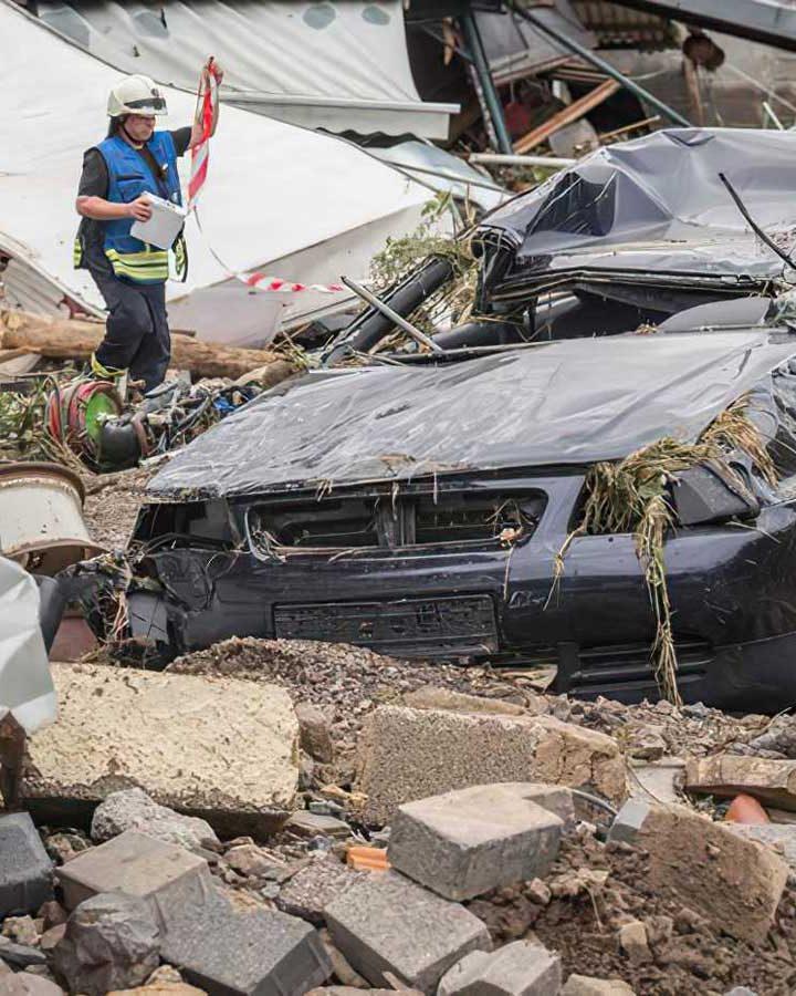 Alemania sufre con fallecidos por inundaciones