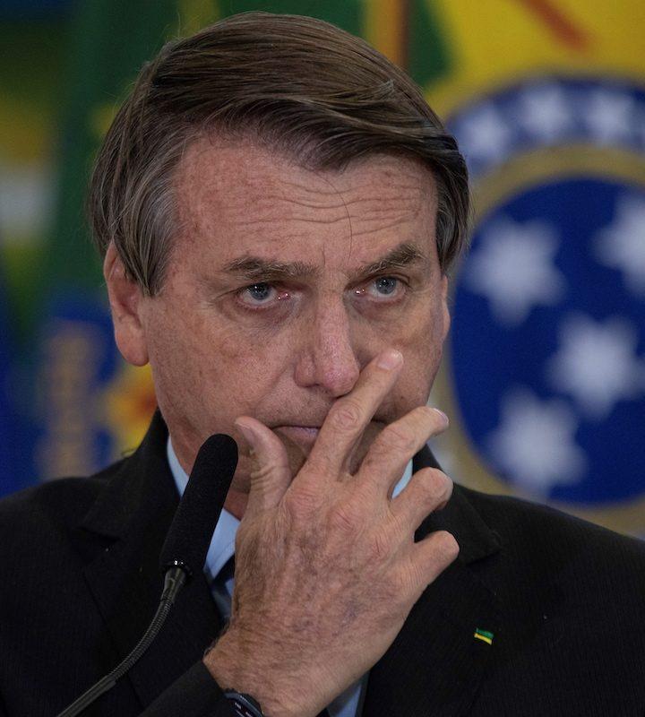 Niegan pedido de juicio político contra Bolsonaro