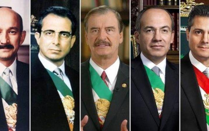 México inicia campaña para que paguen expresidentes