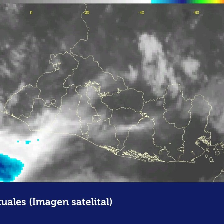 Pronóstico de lluvias al finalizar la tarde de miércoles