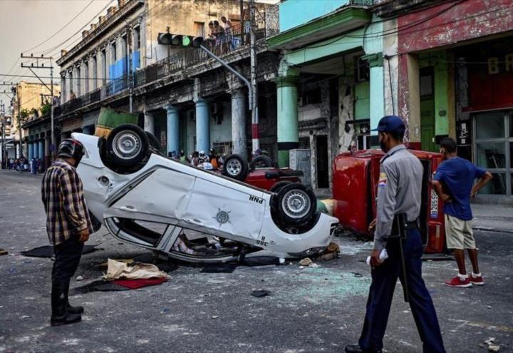 Estados Unidos podría sancionar a Cuba por protestas