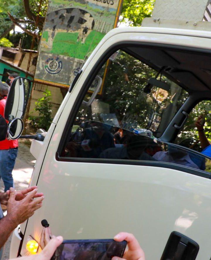 Llegó complemento de vacunas a Honduras donadas por El Salvador