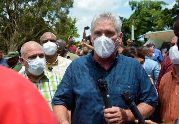 Rechaza presidente de Cuba manipulación mediática de realidad de Cuba