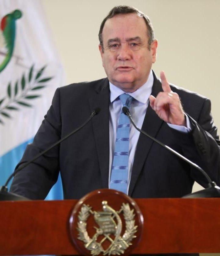 ONGs piden la renuncia del presidente Giammattei