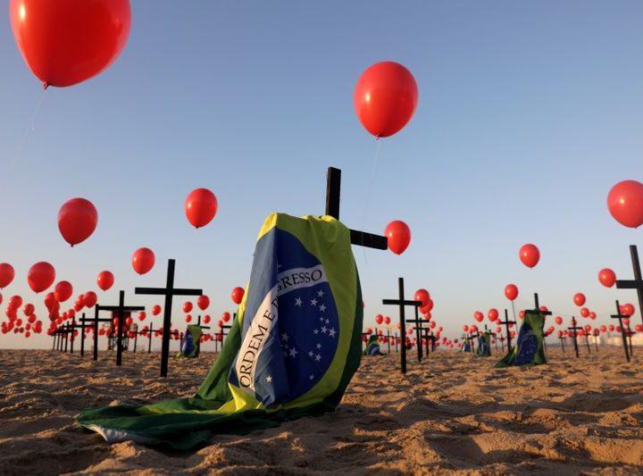 Brasil sigue reportando fallecidos por Covid19