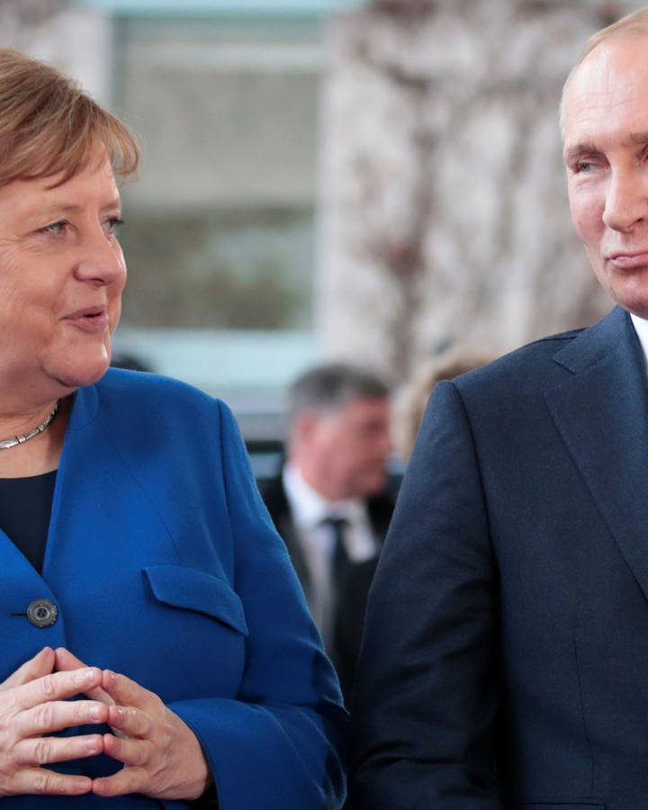 Putin y Merkel agendan reunión para la próxima semana
