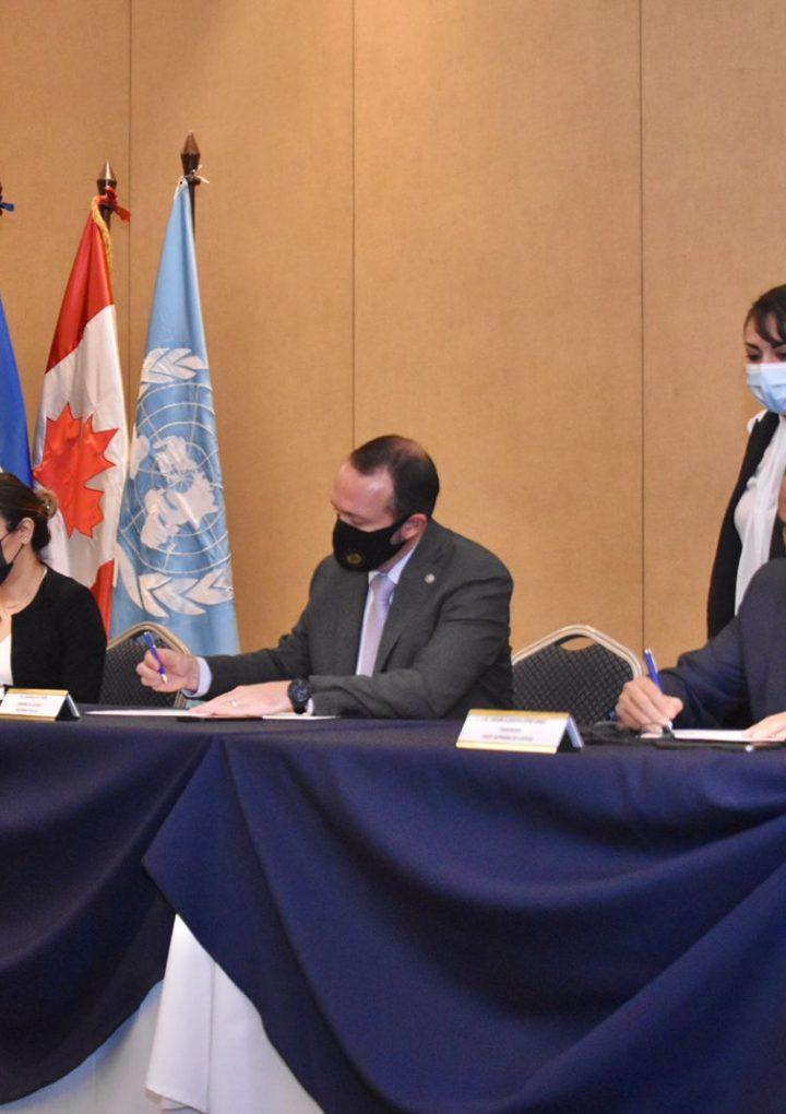 Fiscalía firma convenio para fortalecer la lucha contra desapariciones y tortura
