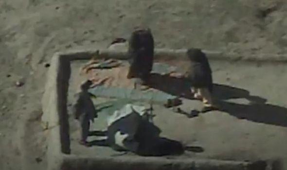 Pilotos de drones filtran imágenes de ataques a Afganistán