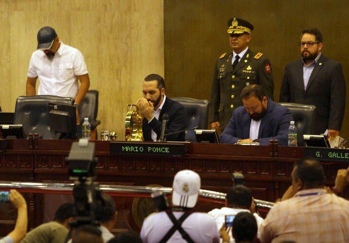 ARENA compara ocupación Talibán de Afganistán con ocupación de Bukele de la Asamblea Legislativa