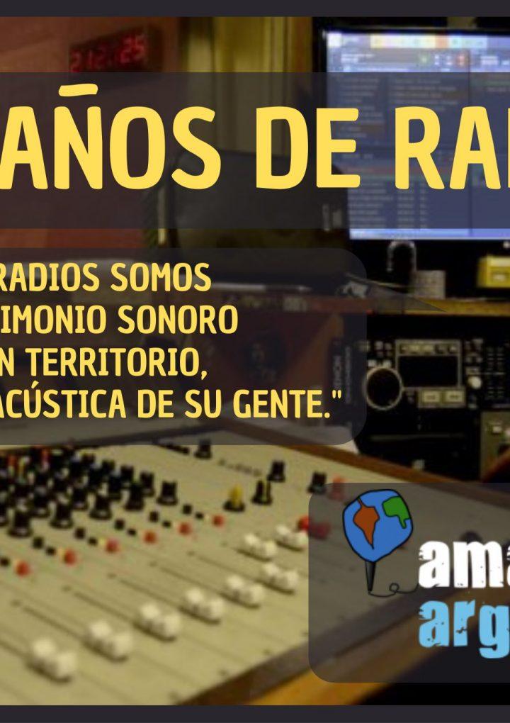 Radio de AMARC Argentina cumple 101 años de existencia