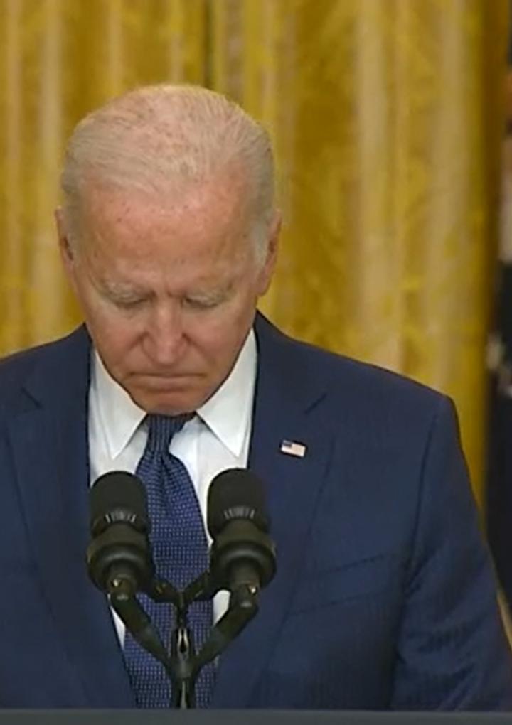 «Asumo toda la responsabilidad de todo lo que ha sucedido» – presidente Biden