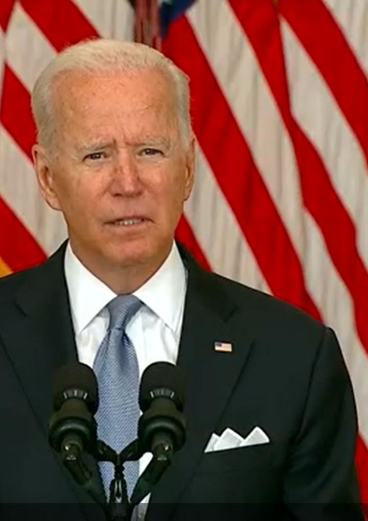 """""""No repetiré los errores que se han cometido en el pasado"""" – presidente Biden"""
