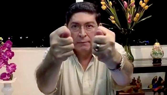 Araujo llama a alcaldes a negarse tras convocatoria de Manes