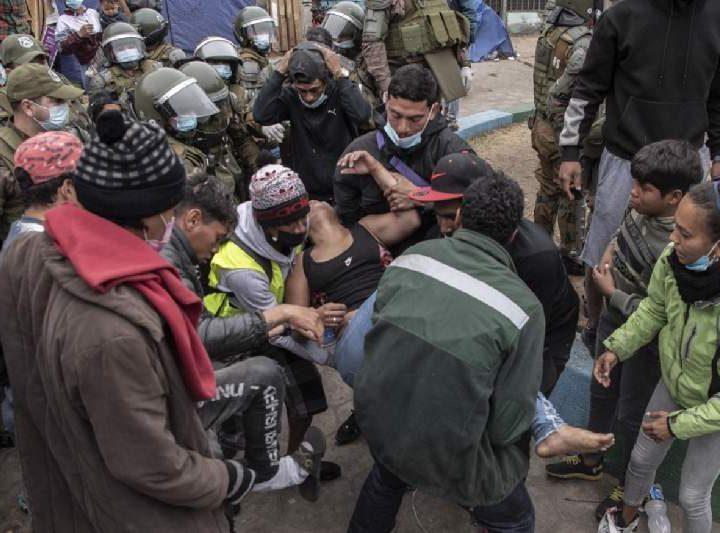 ONU condena agresiones a migrantes por parte de Chile